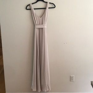 Show me your Mumu Jenny Maxi Bridesmaid Dress